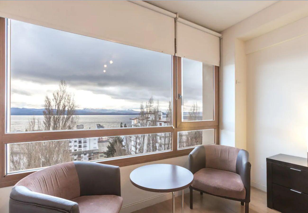 Estudio en San Carlos de Bariloche - Terrazas del Lago I U con vista al Lago