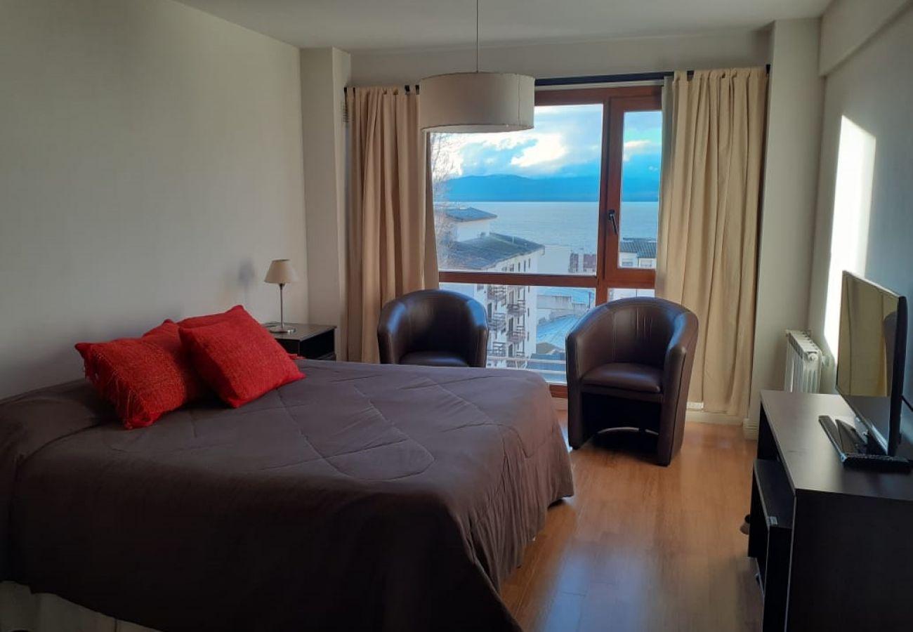 Estudio en San Carlos de Bariloche - Terrazas del Lago I F con vista al Lago