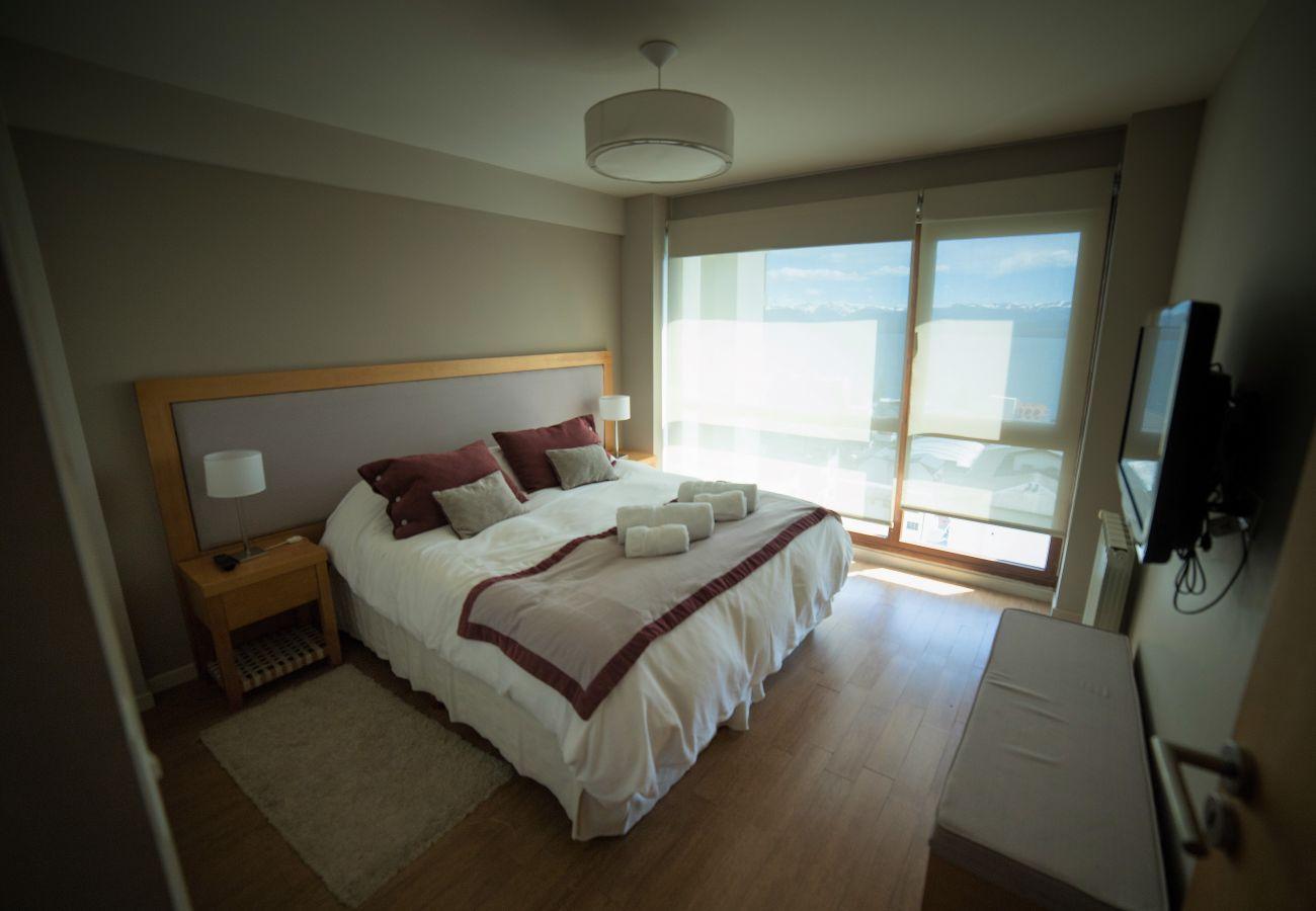 Apartamento en San Carlos de Bariloche - Terrazas del Lago II N con vistas al lago y estaci