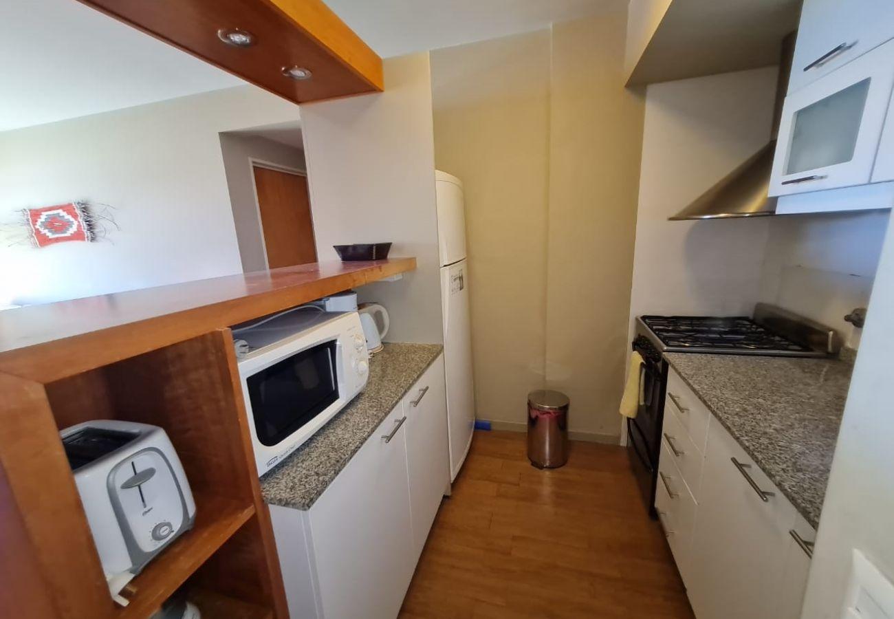 Apartamento en San Carlos de Bariloche - Terrazas del Lago II C con terraza y estac