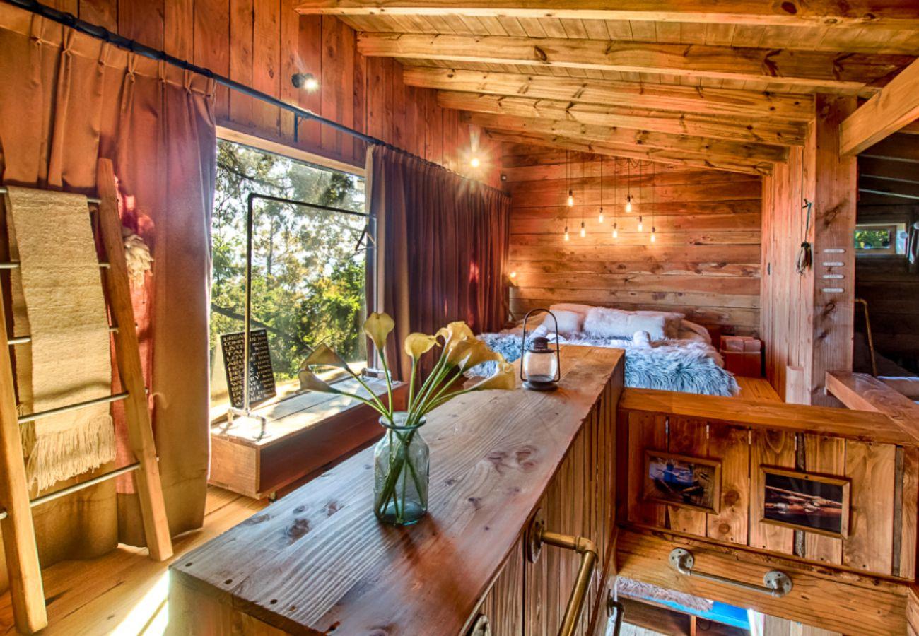 Casa en San Carlos de Bariloche - Magia, cabaña de ensueño con vista al lago