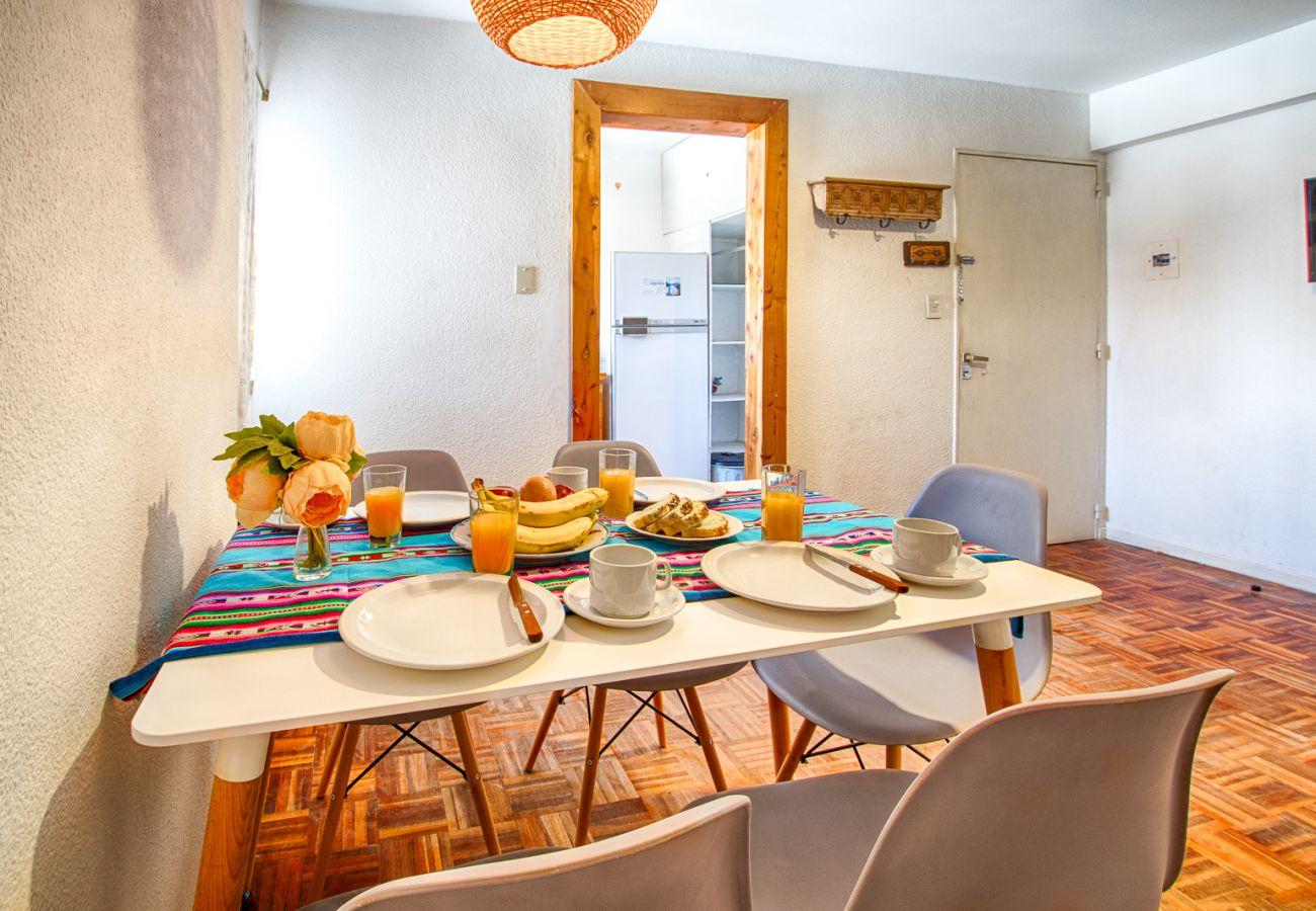 Apartamento en San Carlos de Bariloche - Dto. Simple, a una cuadra de todo!