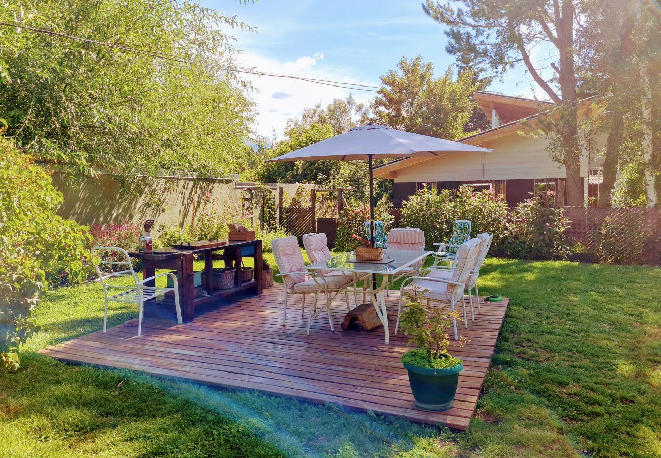 Casa en San Carlos de Bariloche - Casa Azul para 6 personas